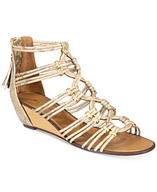 Report Maple Wedge Dress Sandals