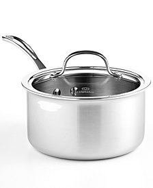 Calphalon Tri-Ply Stainless Steel 2.5 Qt. Covered Saucepan