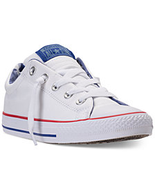 Converse Boys' Chuck Taylor Street Slip Casual Sneakers from Finish Line