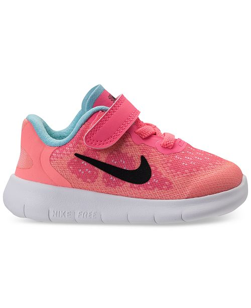 Nike Toddler Girls  Free Run 2 Running Sneakers from Finish Line ... 7f6dff125