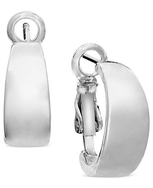 Unwritten Sterling Silver Earrings, Hoop Earrings