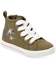 Carter S Ginger Chambray Sneakers Toddler Girls Little