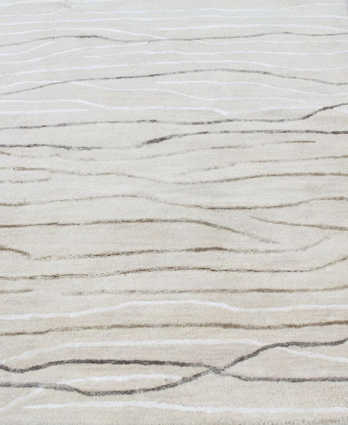 Kenneth Mink Waves 14'' Square Swatch & Reviews - Rugs - Macy's