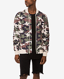 Jaywalker Men's Camo Bomber Jacket, Created for Macys