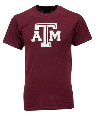 vf licensed sports group men 39 s texas a m aggies big logo t. Black Bedroom Furniture Sets. Home Design Ideas