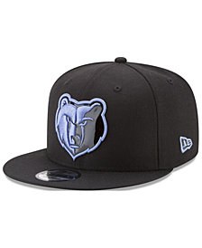 New Era Memphis Grizzlies Patent Blackout 9FIFTY Snapback Cap