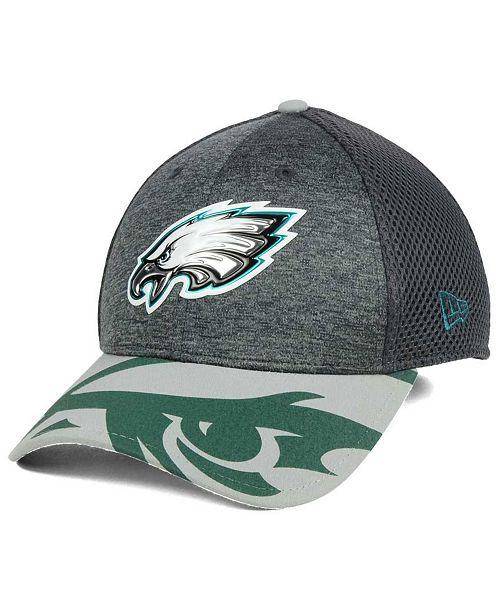6686bc75f New Era Philadelphia Eagles 2017 Draft Fashion 39THIRTY Cap - Sports ...