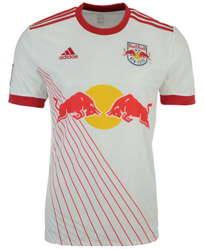 adidas Men's New York Red Bulls Primary Replica Jersey