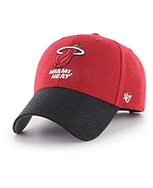 '47 Brand Miami Heat Wool MVP Cap