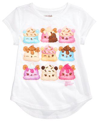 Num Noms Cotton T-Shirt, Little Girls (4-6X) - Shirts ...