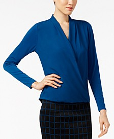 Surplice Top, Created for Macy's