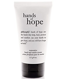 hope hand and cuticle cream, 4 oz.
