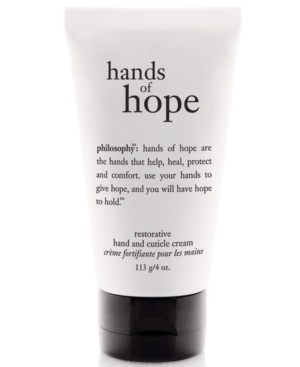 philosophy hope hand and cuticle cream, 4 oz.