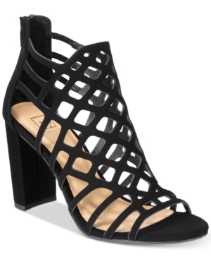 Material Girl Cadence Caged Sandals, Created for Macy