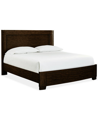 fairbanks california king platform bed with usb outlets created for macys - Cal King Platform Bed Frame