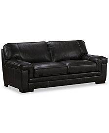 Gray Leather Sofa Shop Couches Online Macy S