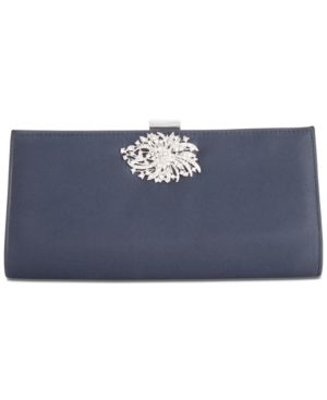 SATIN STACEE SMALL CLUTCH
