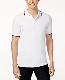 Men's Contrast Tipped Polo Shirt