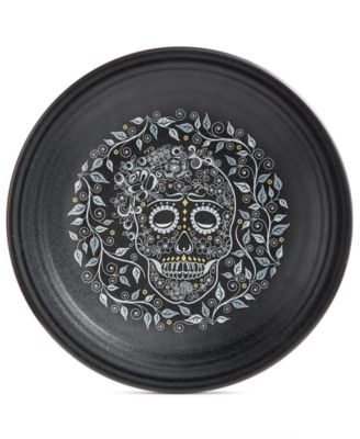 Skull and Vine Chop Plate