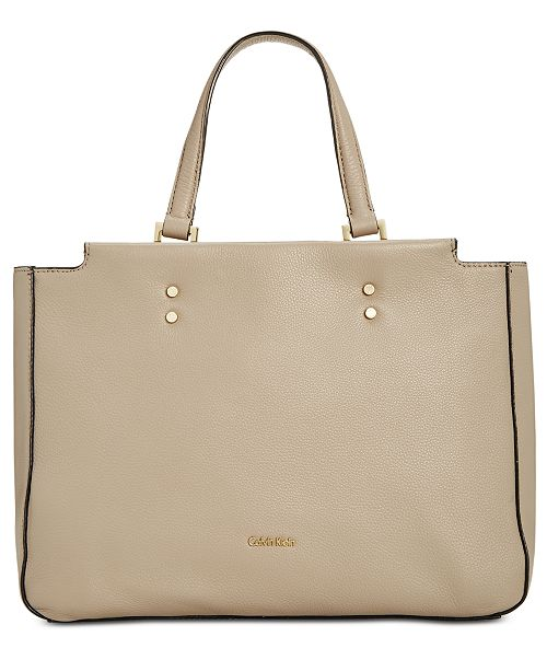 Calvin Klein Doreen Medium Satchel