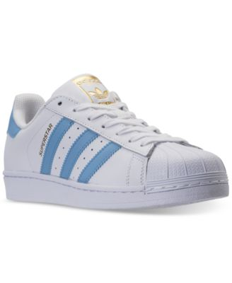 Image of adidas Men's Superstar adicolor Casual Sneakers from Finish Line