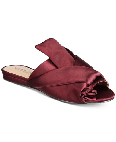 CHARLES by Charles David Mya Satin Sandals