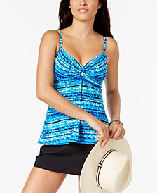 Miraclesuit Night Lights Underwire Tankini Top & Bottoms