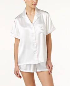 Bridal undergarments shop bridal undergarments macys linea donatella bride embroidered boyfriend short pajama set junglespirit Choice Image
