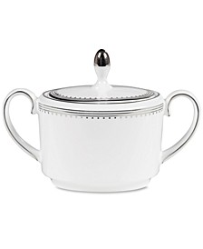 Dinnerware, Grosgrain Sugar Bowl