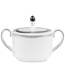 Vera Wang Wedgwood Dinnerware, Grosgrain Sugar Bowl
