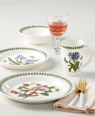 For the discerning china collector or naturalist on your gift list the Botanic Garden dinnerware and dishes collection by Portmeirion presents six ...  sc 1 st  Macyu0027s & Portmeirion Dinnerware Botanic Garden Collection Created for ...