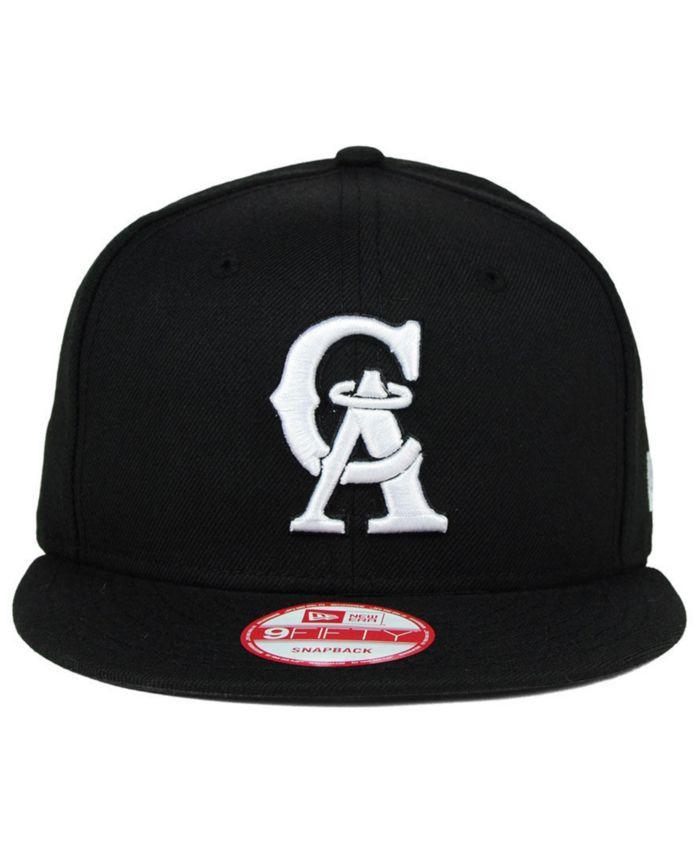 New Era Los Angeles Angels of Anaheim B-Dub 9FIFTY Snapback Cap & Reviews - Sports Fan Shop By Lids - Men - Macy's