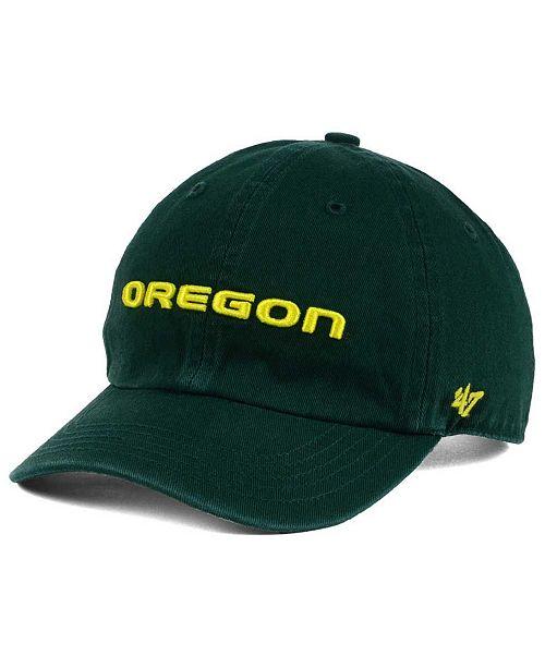 '47 Brand Boys' Oregon Ducks CLEAN UP Cap
