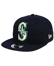 New Era Seattle Mariners Logo Grand 9FIFTY Snapback Cap