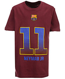 Outerstuff' Neymar da Silva Santos Junior FC Barcelona Club Team Player T-Shirt, Big Boys