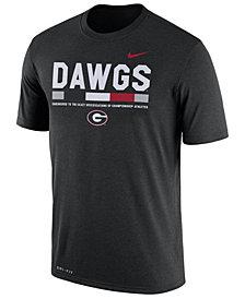 Nike Men's Georgia Bulldogs Legend Staff Sideline T-Shirt