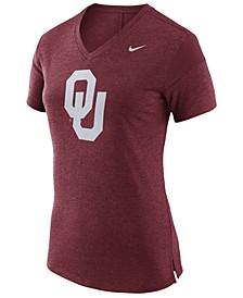 Women's Oklahoma Sooners Fan V Top T-Shirt