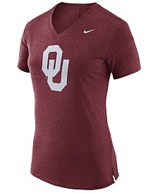 Nike Women's Oklahoma Sooners Fan V Top T-Shirt