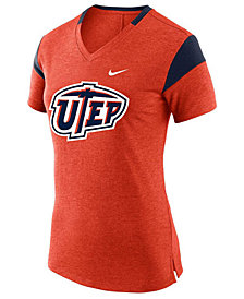 Nike Women's UTEP Miners Fan V Top T-Shirt