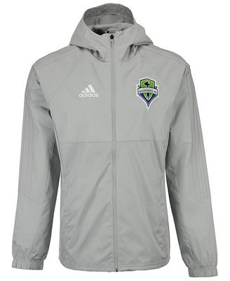 adidas Men's Seattle Sounders FC Rain Jacket