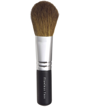 The lighter multi-purpose brush for the multi-taskers that we are. With its soft-tapered, semi-round bristles, this versatile brush works great with bareMinerals Spf 15 Foundation, All-Over Face Color, Blush and Mineral Veil. Get light-to-medium coverage and a broad range of easy, expert-looking applications. Brush is made of Goat Hair. Tips & Tricks: Prolong the magic. To extend the life and beauty of your makeup brushes, cleanse brushes regularly with Well-Cared For Brush Conditioning Shampoo