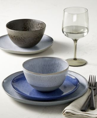 This item is part of the Hotel Collection Olaria Dinnerware Collection Created for Macyu0027s & Hotel Collection Olaria 12-Pc. Dinnerware Set Service for 4 ...