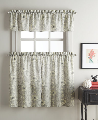 CHF Sketch Floral Window Treatment Collection