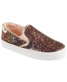 Kenneth Cole New York Kam Slip-On Glitter Sneakers, Little & Big Girls
