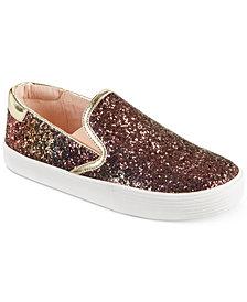Kenneth Cole New York Kam Slip-On Glitter Sneakers, Little & Big Girls