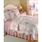 Laura Hart Kids Ballet Lessons Reversible Cotton Quilt Sets