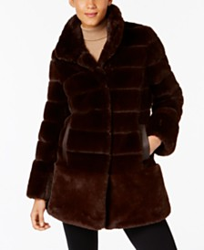 Faux Fur Womens Coats - Macy's