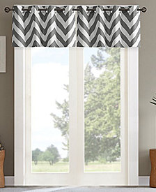 "Intelligent Design Libra 50"" x 18"" Energy-Efficient Room Darkening Window Valance"