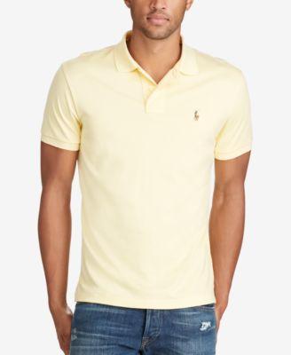 Polo Ralph Lauren Mens Pima Soft-Touch Polo Shirt