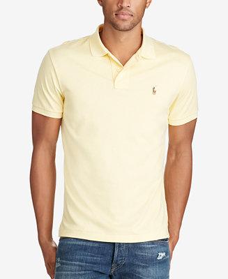 Polo Ralph Lauren Men s Pima Cotton Soft-Touch Polo - Polos - Men - Macy s 78d6e48092e